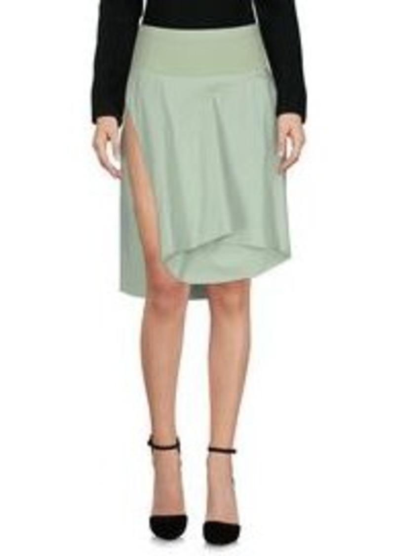 rick owens rick owens knee length skirt skirts shop it to me. Black Bedroom Furniture Sets. Home Design Ideas