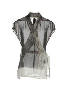 RICK OWENS - Patterned shirts & blouses