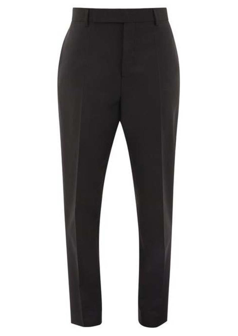 Rick Owens Austin straight-leg crepe trousers