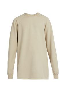 Rick Owens DRKSHDW Baseball cotton-jersey sweatshirt