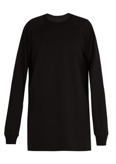 Rick Owens Baseball cotton sweatshirt