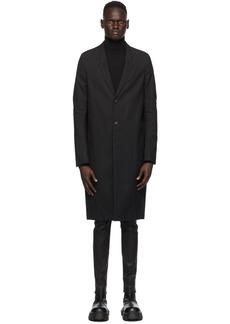 Rick Owens Black Performa Moreau Coat