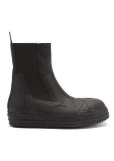 Rick Owens Bozo rubber chelsea boots