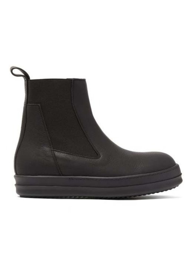 Rick Owens Bozo thick-sole leather Chelsea boots