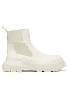 Rick Owens Bozo Tractor Beetle leather chelsea boots