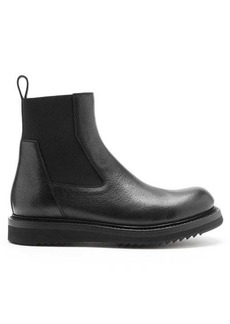 Rick Owens Cleated-sole leather Chelsea boots