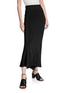 Rick Owens Cocoon Crepe Skirt