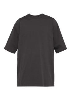 Rick Owens Crew-neck short-sleeve sweatshirt