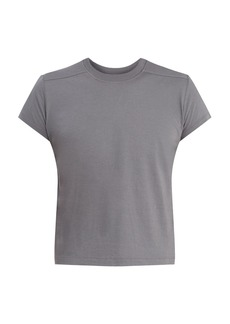 Rick Owens Cropped crew-neck cotton-jersey T-shirt
