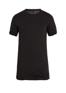 Rick Owens Double-layered cotton T-shirt