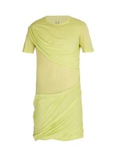 Rick Owens Draped cotton T-shirt