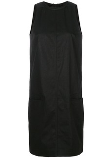 Rick Owens DRKSHDW A-line halterneck mini dress - Black