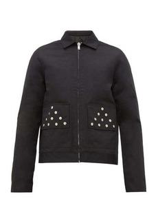 Rick Owens DRKSHDW Brother studded jacket