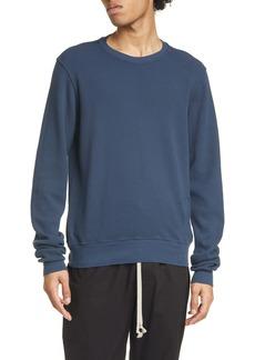 Rick Owens DRKSHDW Cotton Waffle Knit Sweatshirt