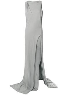 Rick Owens DRKSHDW distressed layered dress - Grey
