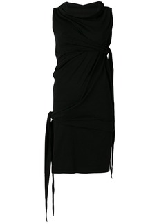Rick Owens DRKSHDW draped dress - Black