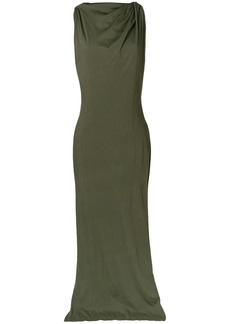 Rick Owens DRKSHDW draped gown - Green