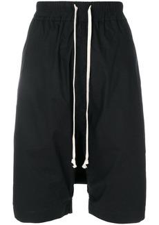 Rick Owens DRKSHDW drawstring knee-length shorts - Black