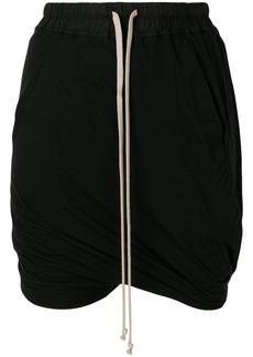 Rick Owens DRKSHDW drawstring shorts - Black