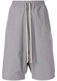 Rick Owens DRKSHDW drawstring shorts - Grey