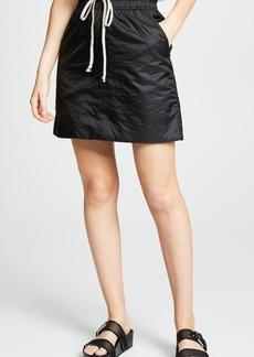 Rick Owens DRKSHDW Drawstring Skirt