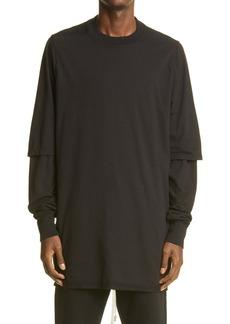 Rick Owens DRKSHDW Hustler Men's Layered T-Shirt