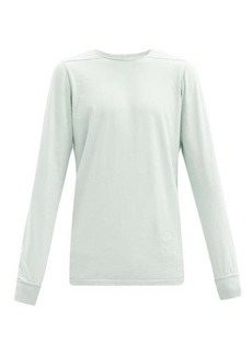 Rick Owens DRKSHDW Level long-sleeve cotton-jersey T-shirt