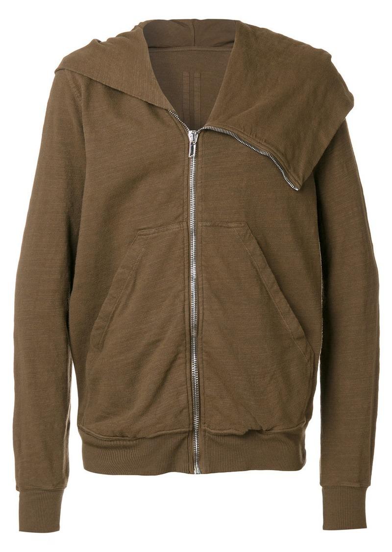 Rick Owens open chest hoodie