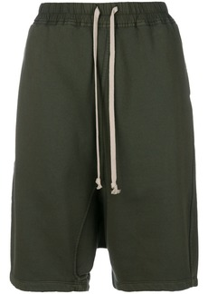 Rick Owens DRKSHDW oversized harem shorts - Green