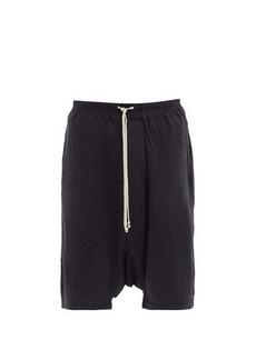 Rick Owens DRKSHDW Pods cotton-jersey shorts