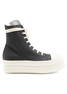 Rick Owens DRKSHDW Ramones exaggerated-sole high-top rubber trainers