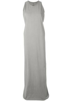 Rick Owens DRKSHDW sleeveless long dress - Grey