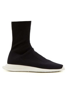 Rick Owens DRKSHDW Stretch sock high-top trainers