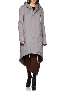Rick Owens DRKSHDW Women's Tech-Faille Fishtail Parka