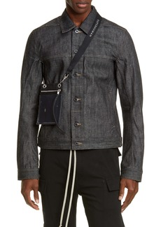Rick Owens DRKSHDW Worker Denim Jacket