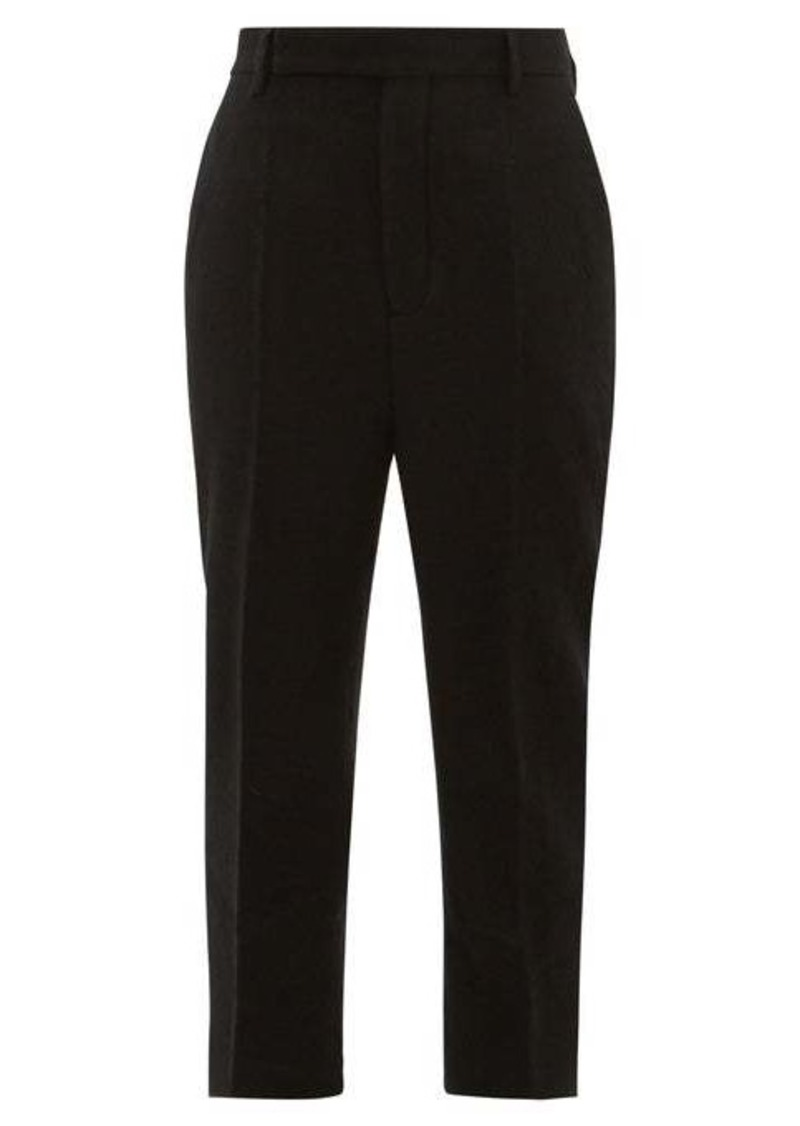 Rick Owens Easy Astaires wool trousers