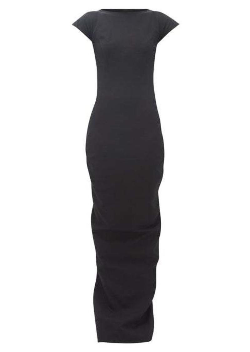 Rick Owens Easy Sarah open-back cotton-blend maxi dress