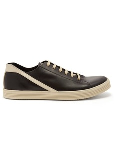 Rick Owens Geothrasher low-top leather trainers