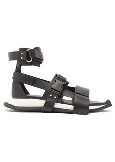 Rick Owens Gladi Runner leather sandals