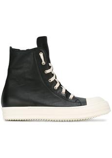 Rick Owens hi-top sneakers