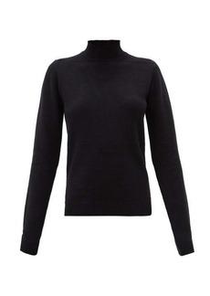 Rick Owens High-neck cashmere-blend sweater