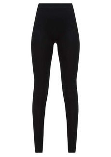 Rick Owens High-rise stretch-jersey leggings
