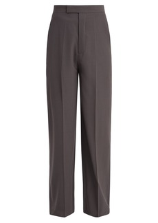 Rick Owens High-rise wide-leg trousers