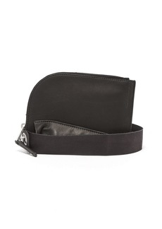 Rick Owens ID leather neck pouch