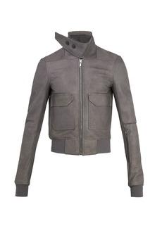 Rick Owens Leather flight jacket