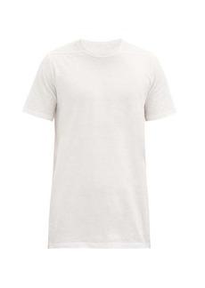Rick Owens Level longline cotton-jersey T-shirt