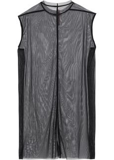 Rick Owens Lilies Woman Babel Tulle Dress Black