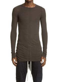Rick Owens Long Sleeve Ribbed T-Shirt