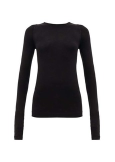 Rick Owens Long-sleeved stretch-jersey top