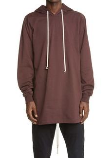 Rick Owens Longline Hooded T-Shirt